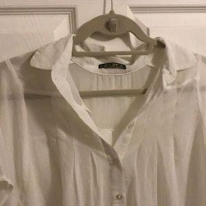 Tops - Vintage White Blouse